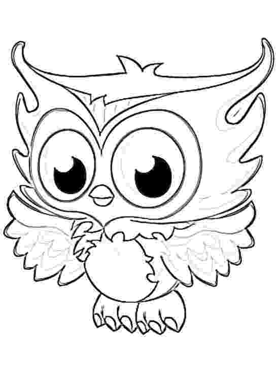 printable owl colouring baby owl coloring pages getcoloringpagescom colouring printable owl