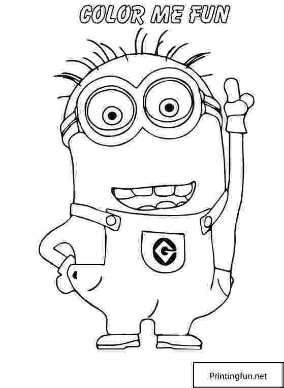 printable pictures of minions minion coloring pages best coloring pages for kids of pictures minions printable 1 2