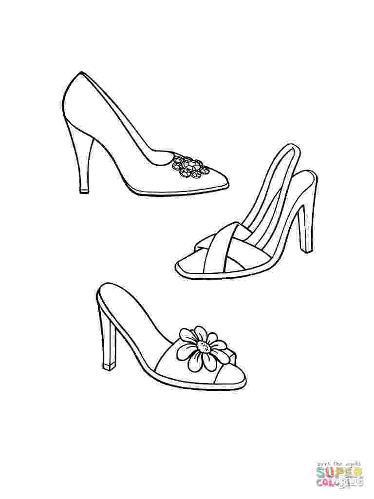 printable pictures of shoes leather boot coloring page free printable coloring pages pictures printable of shoes