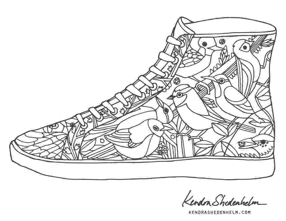 printable pictures of shoes shoe coloring pages to download and print for free shoes pictures of printable 1 1