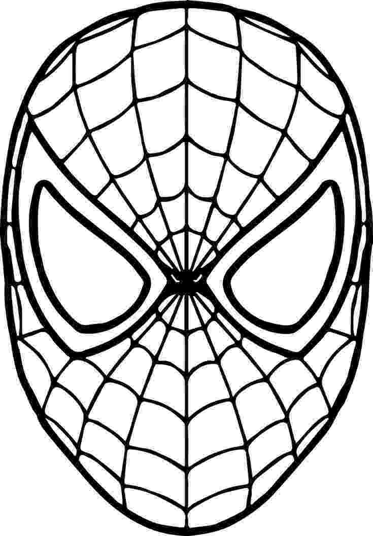 printable spiderman coloring pages spiderman free printable coloring pages printable spiderman 1 1