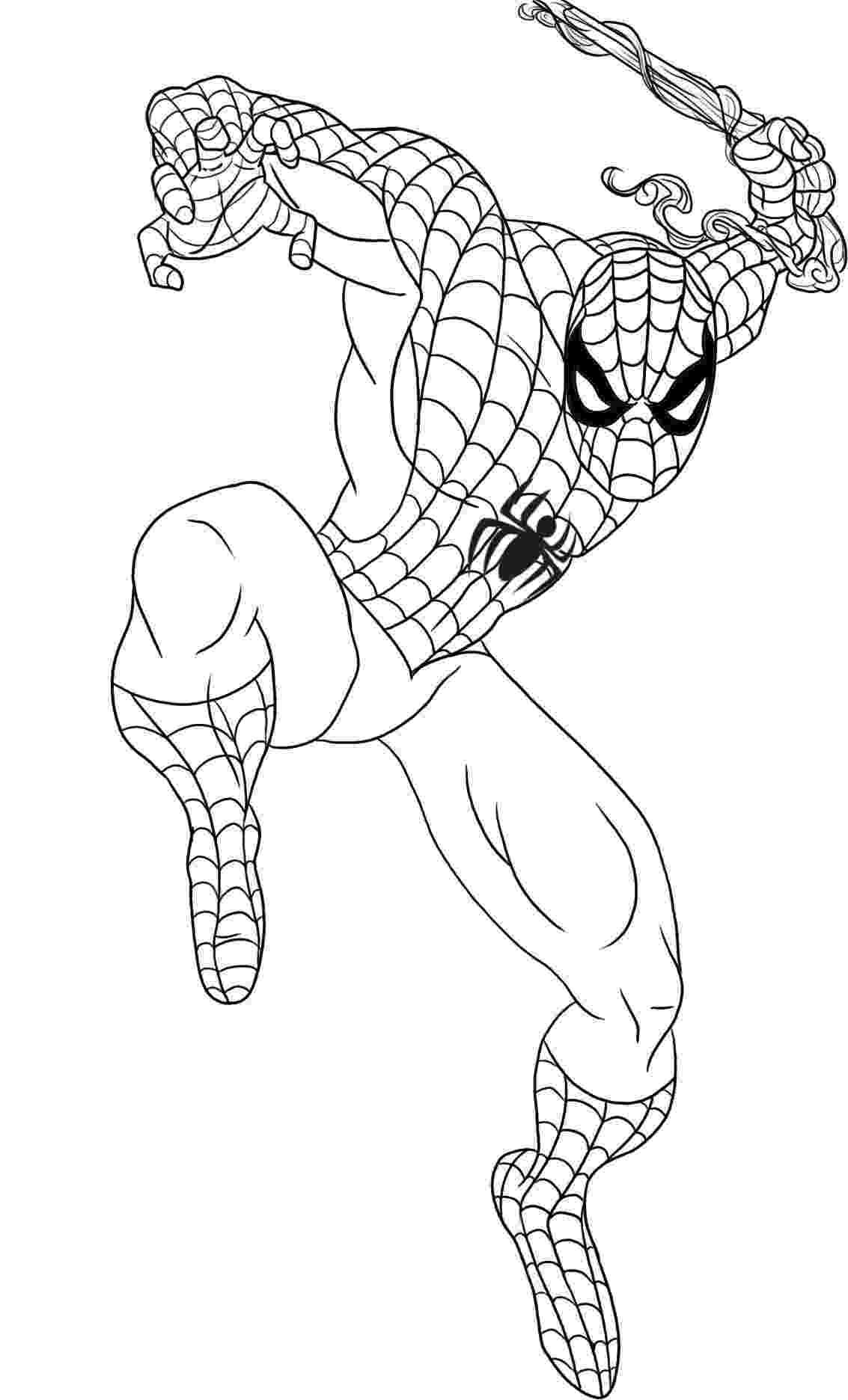 printable spiderman spiderman coloring pages printable spiderman