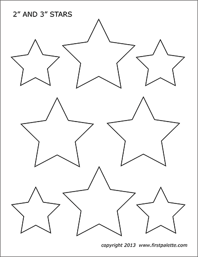 printable star printable full page large star pattern use the pattern star printable