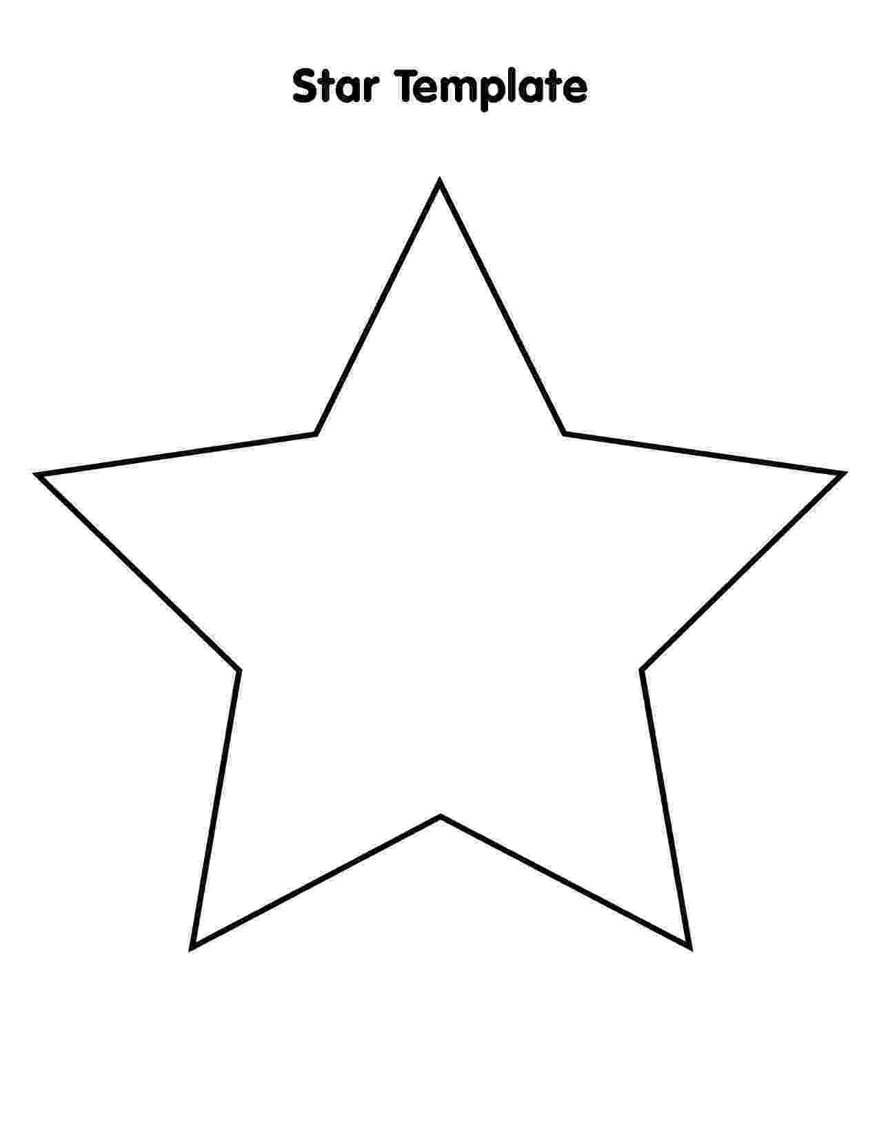printable star star template 7 inch tim39s printables printable star