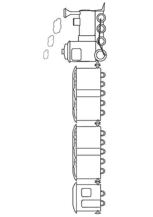 printable train train with two carriages coloring page free printable printable train