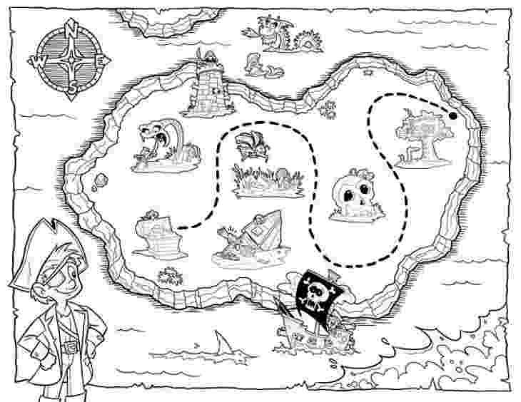 printable treasure map coloring page treasure map coloring pages getcoloringpagescom coloring page treasure printable map