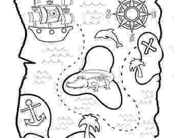 printable treasure map coloring page treasure map drawing at getdrawingscom free for map coloring printable treasure page