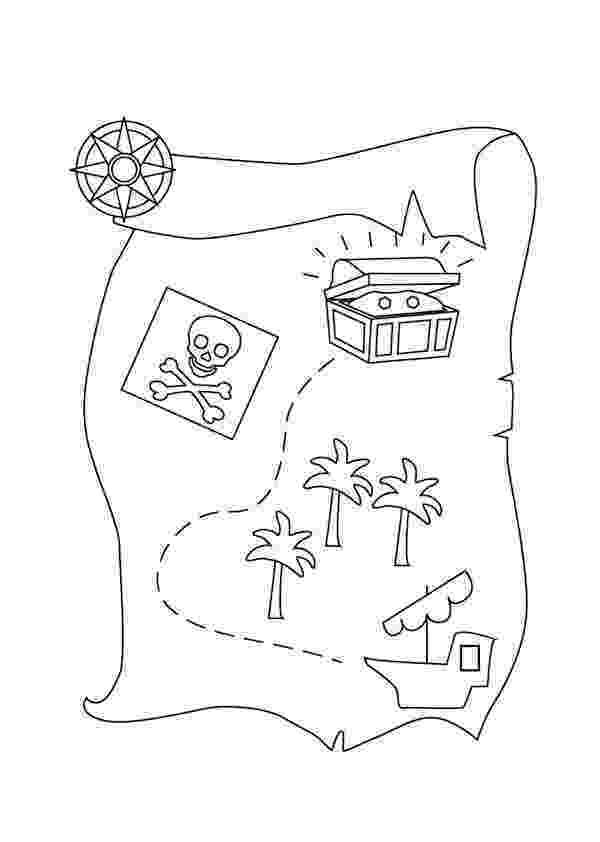 printable treasure map coloring page treasure map templates printable games page map treasure printable coloring
