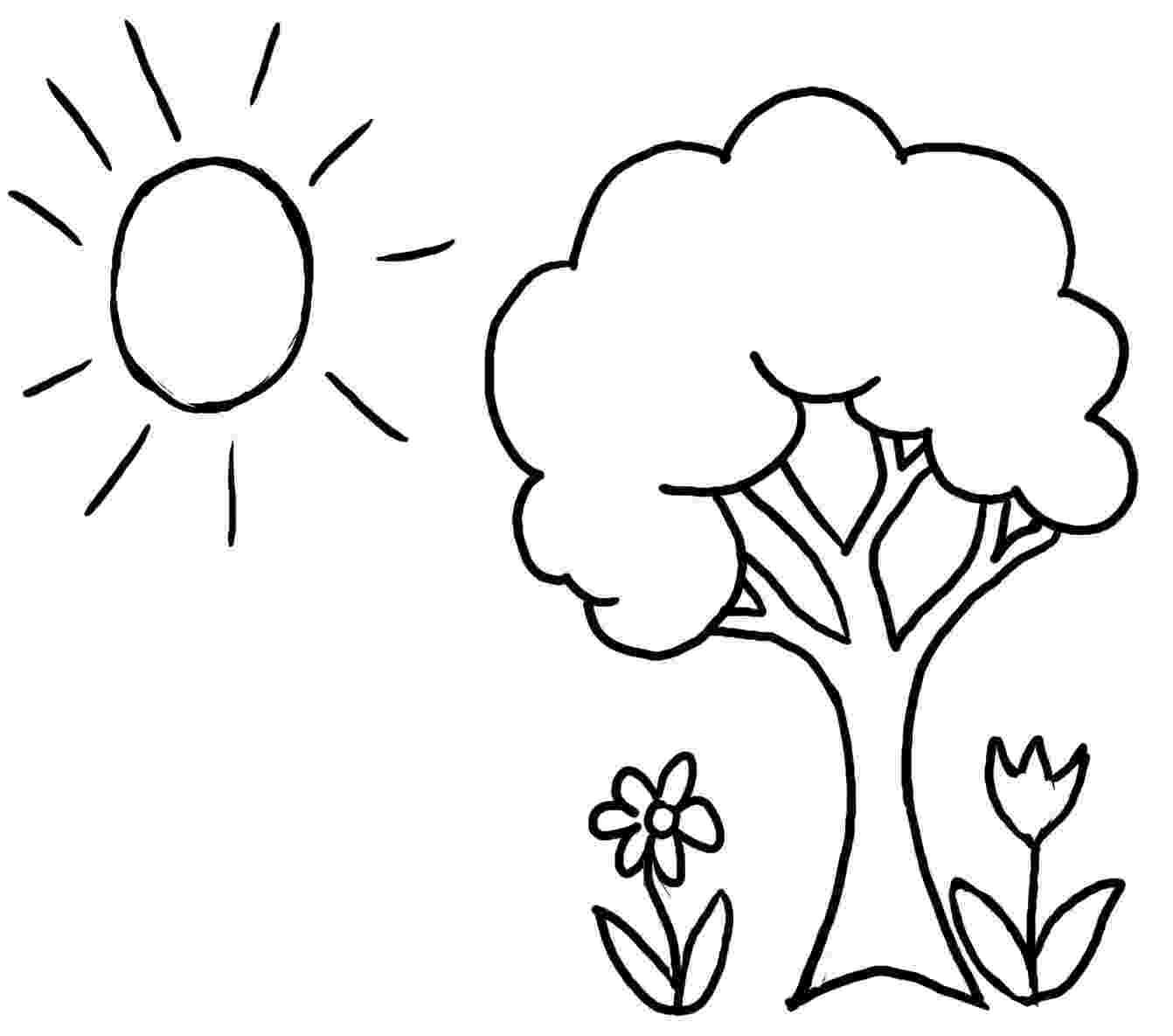 printable tree coloring page christmas tree coloring pages free world pics tree coloring page printable