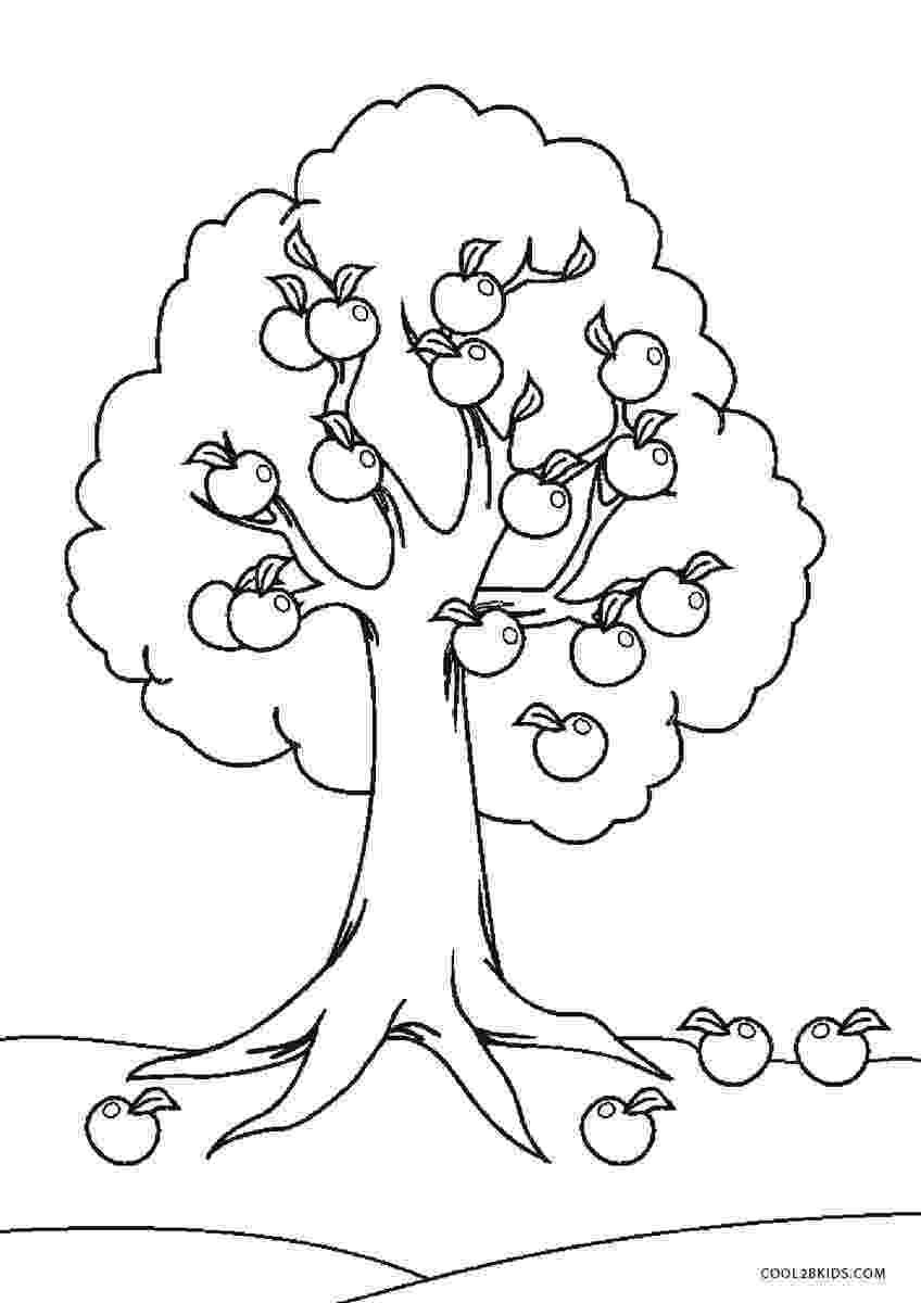 printable tree coloring page free printable tree coloring pages for kids coloring printable tree page