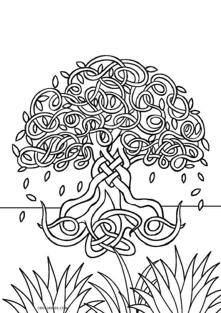 printable tree coloring page free printable tree coloring pages for kids page tree coloring printable