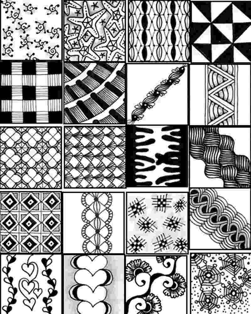 printable zentangle patterns 15 easy freehand zentangle patterns for beginners full patterns zentangle printable