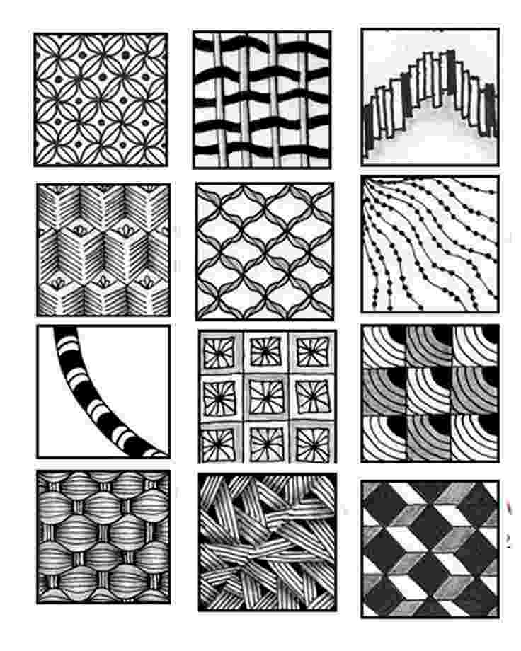 printable zentangle patterns free printable zentangle coloring pages for adults patterns printable zentangle