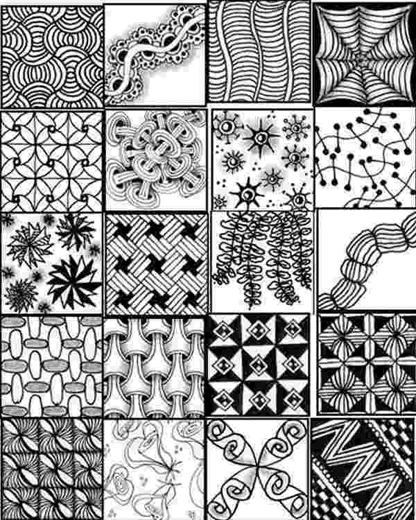 printable zentangle patterns go craft something patterns printable zentangle 1 1