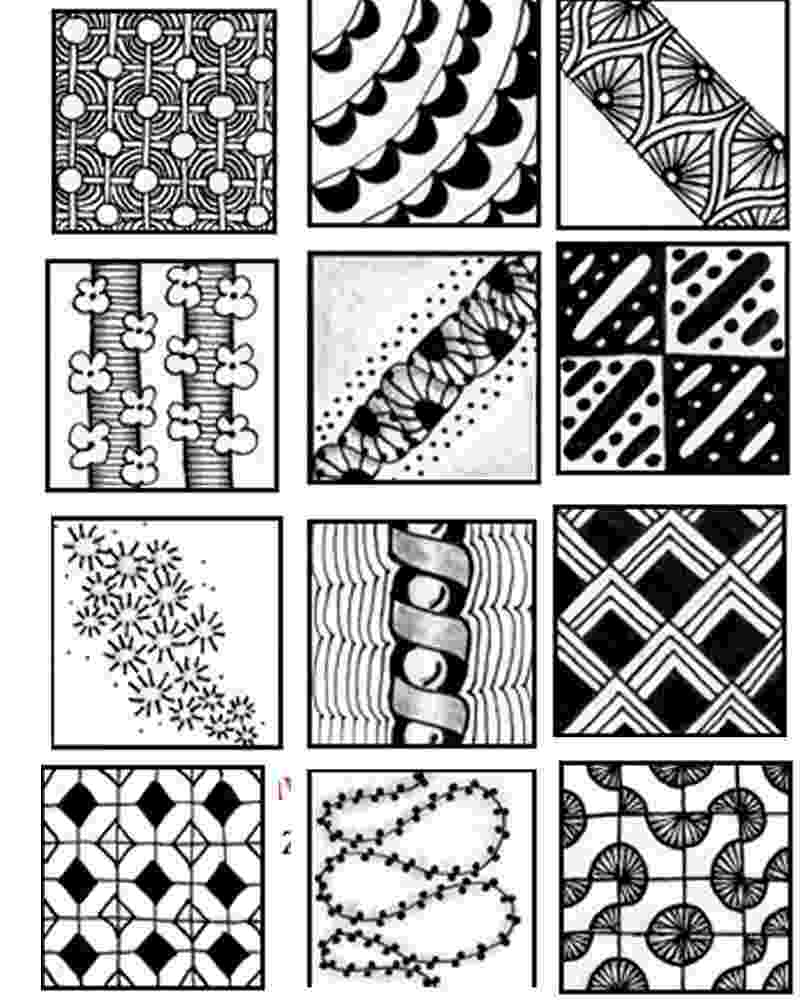 printable zentangle patterns go craft something patterns printable zentangle 1 2