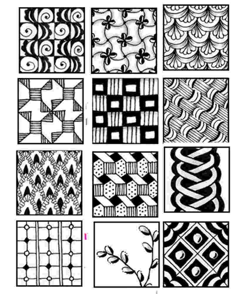 printable zentangle patterns zentangle inspired printable coloring page hearts and flowers printable patterns zentangle