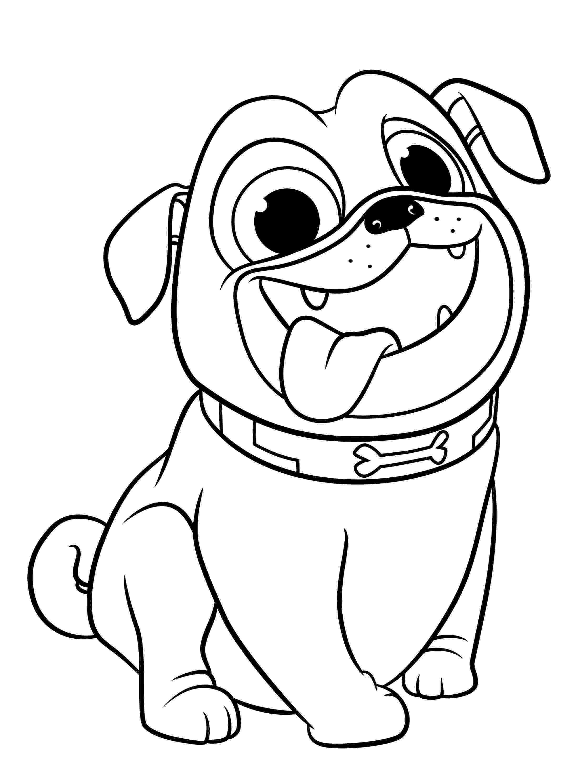 puppy coloring page puppy dog pals coloring pages to download and print for free coloring puppy page