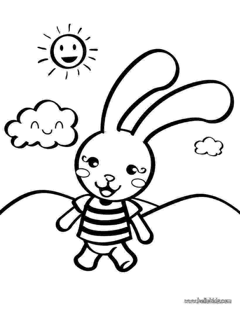 rabbit coloring pages for preschoolers preschool easter worksheets kiduls printable pages coloring for preschoolers rabbit
