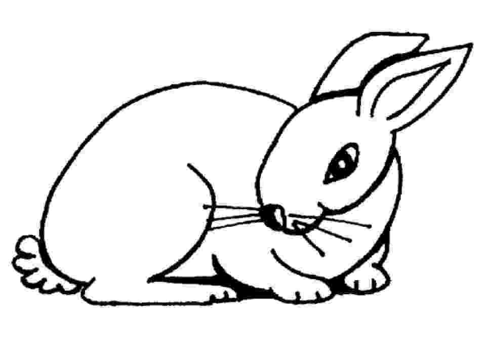 rabbit coloring pages for preschoolers valentine39s day bunny worksheet educationcom rabbit preschoolers coloring for pages