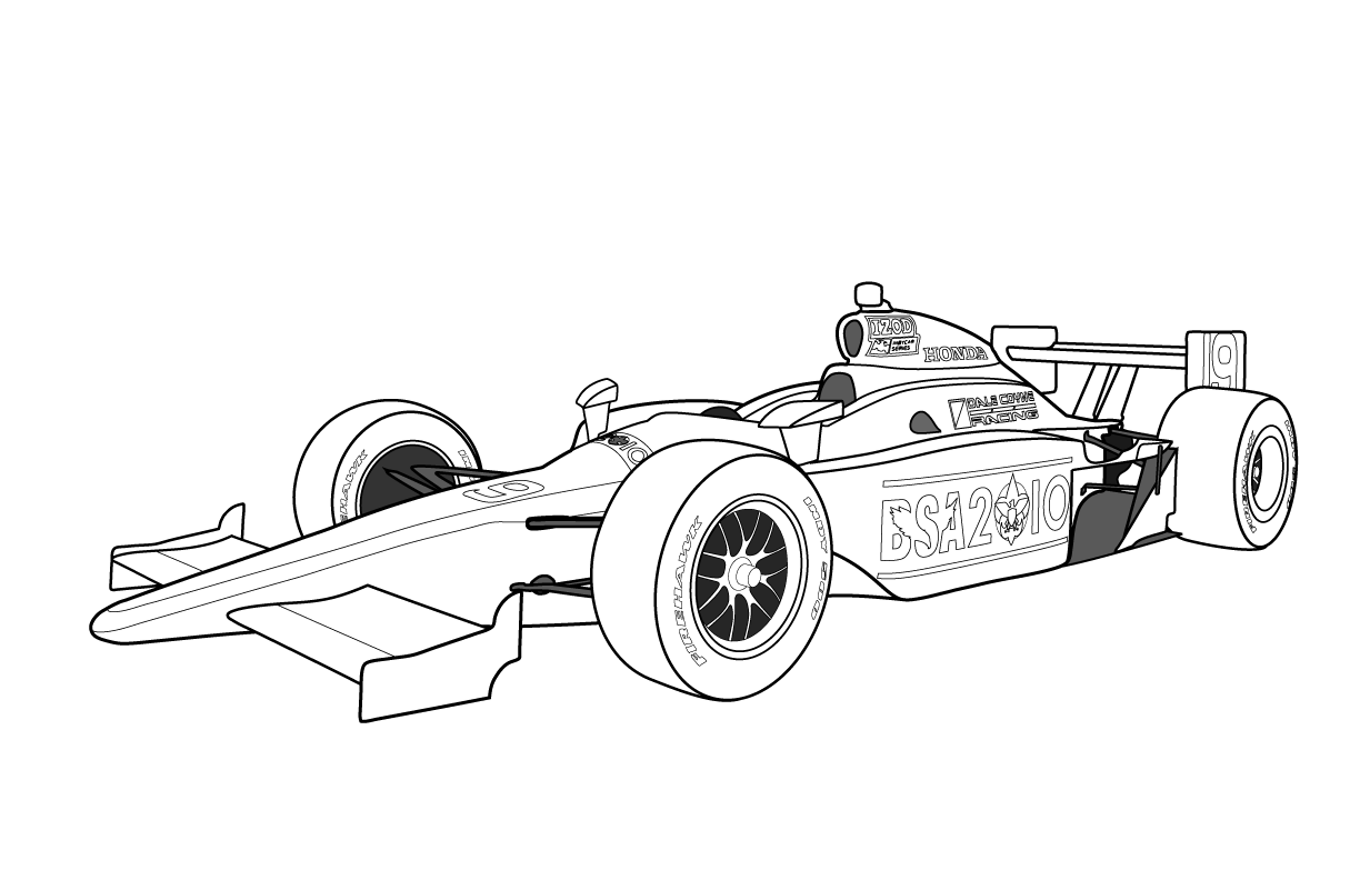race cars to color race car coloring pages printable free 5 image race cars to color