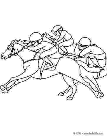 race horse coloring pages horse racing coloring pages at getcoloringscom free race coloring pages horse