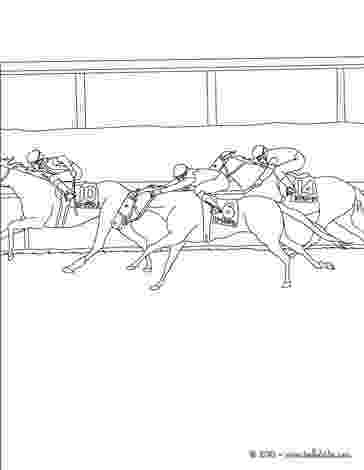 race horse coloring pages horse racing drawing at getdrawings free download horse coloring race pages