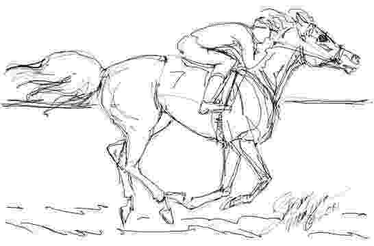 race horse coloring pages race horse coloring page coloring home race horse pages coloring