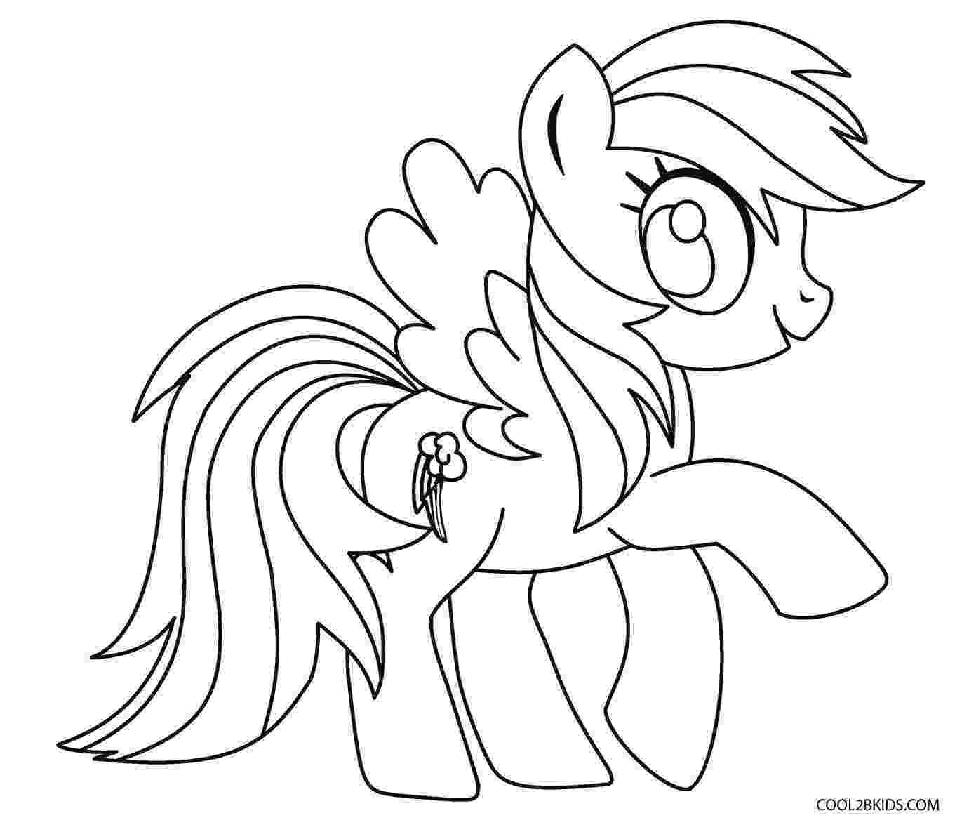 rainbow dash color page free printable my little pony coloring pages for kids page rainbow dash color