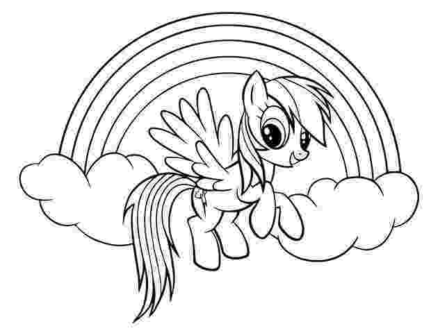 rainbow dash color page my little pony rainbow dash coloring pages free download dash page rainbow color