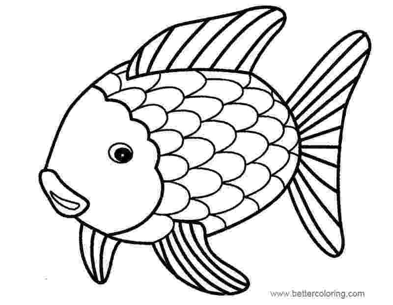 rainbow fish coloring sheet rainbow fish coloring pages color by numbers free fish coloring rainbow sheet