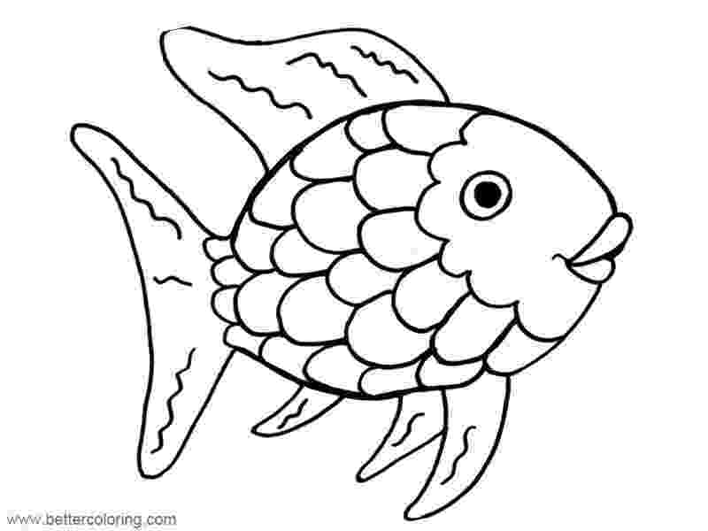 rainbow fish coloring sheet rainbow fish printables august preschool themes child care sheet rainbow fish coloring