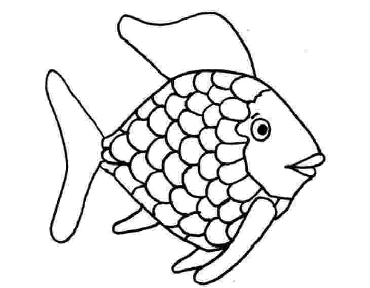 rainbow fish images free cute fish coloring pages for kids from the finding nemo images rainbow free fish