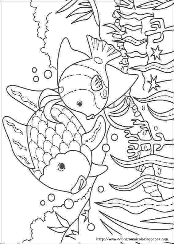 rainbow fish images free rainbow fish coloring pages free for kids fish images rainbow free