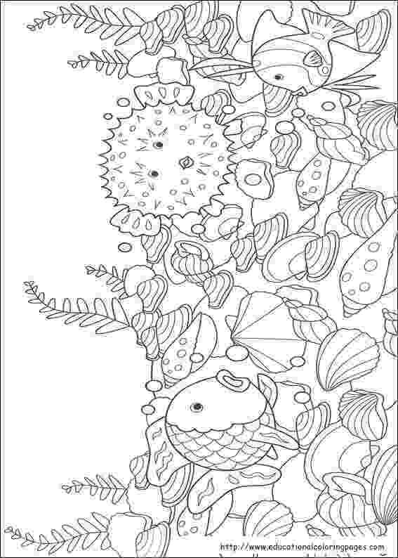 rainbow fish images free rainbow fish coloring pages free for kids free images rainbow fish 1 1