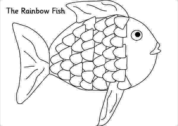 rainbow fish pattern rainbow outline to color clipart best preschool oceans fish rainbow pattern