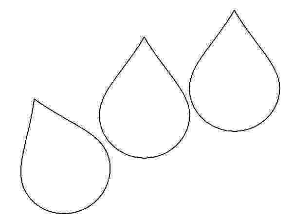 raindrop coloring page coloring raindrops clipart best raindrop page coloring