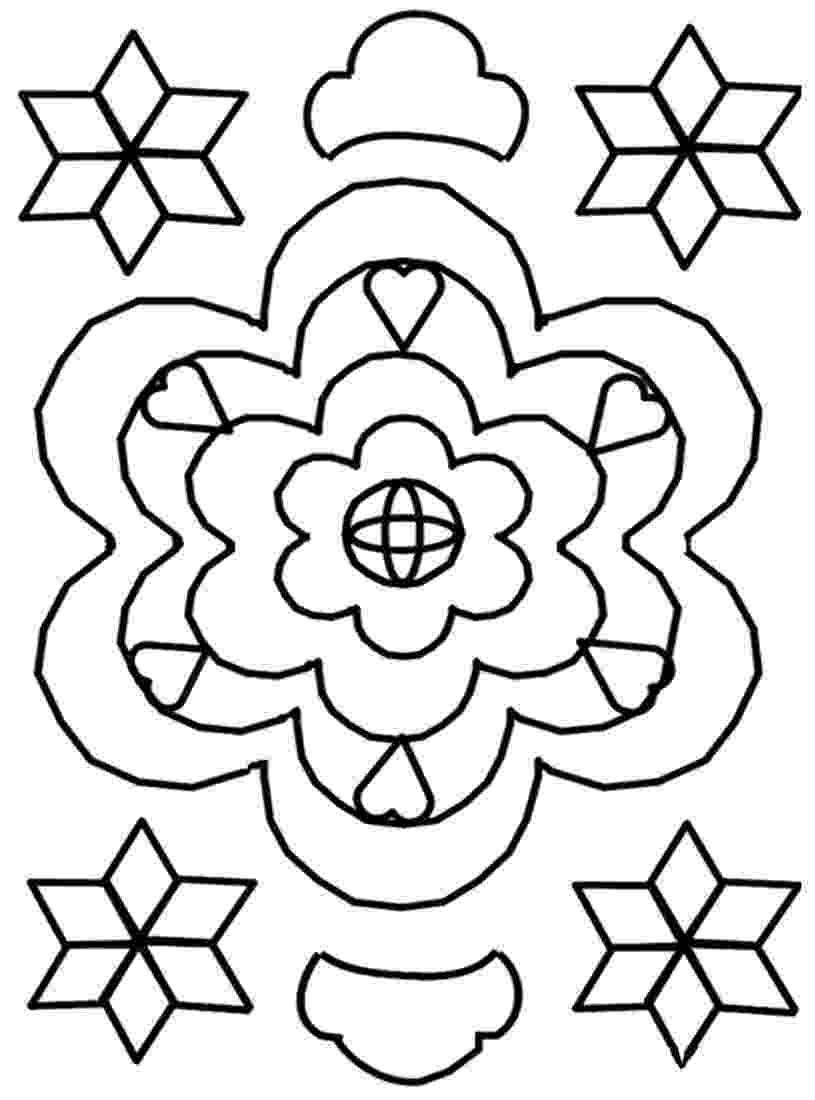 rangoli colouring pattern printable rangoli coloring pages for kids cool2bkids pattern rangoli colouring