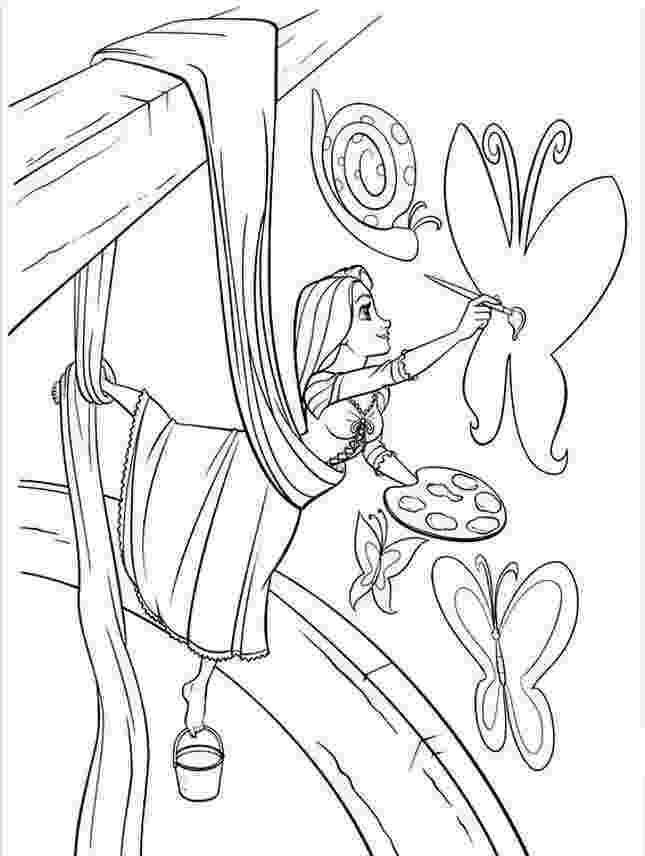 rapunzel printable coloring pages princess rapunzel coloring page free printable coloring coloring printable pages rapunzel