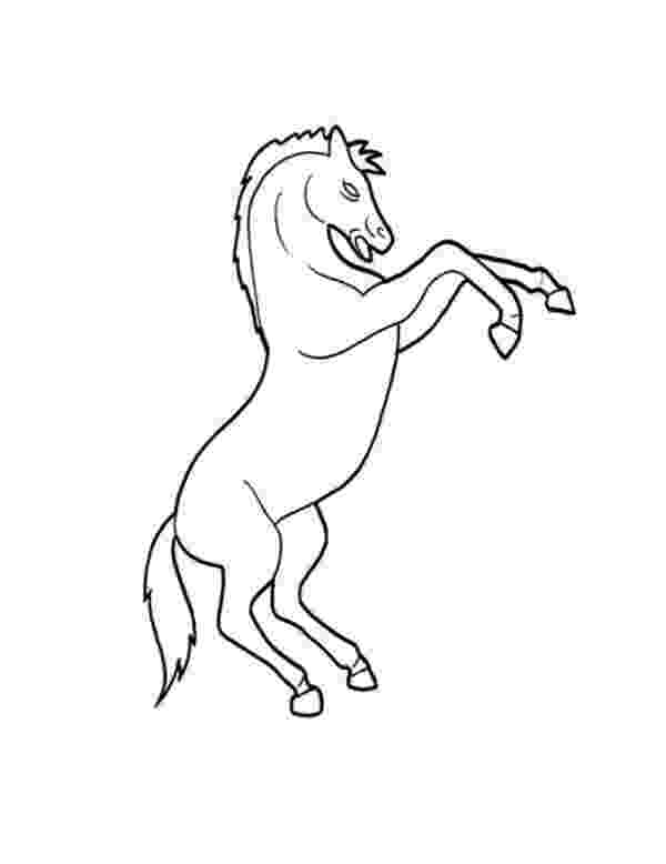 rearing horse coloring pages coloring pages of horses rearing at getcoloringscom rearing coloring pages horse 1 1