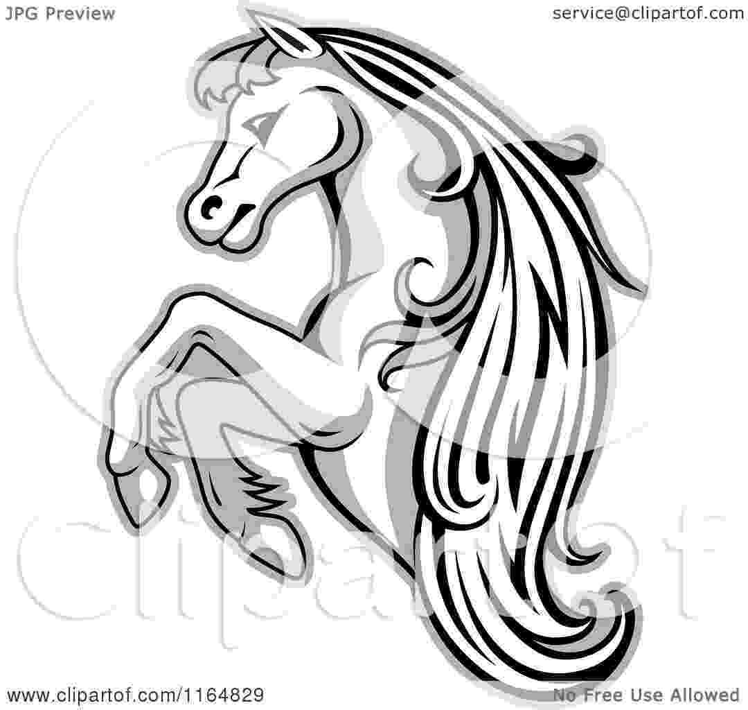 rearing horse coloring pages gaited horse lineart google search horse drawings pages coloring horse rearing