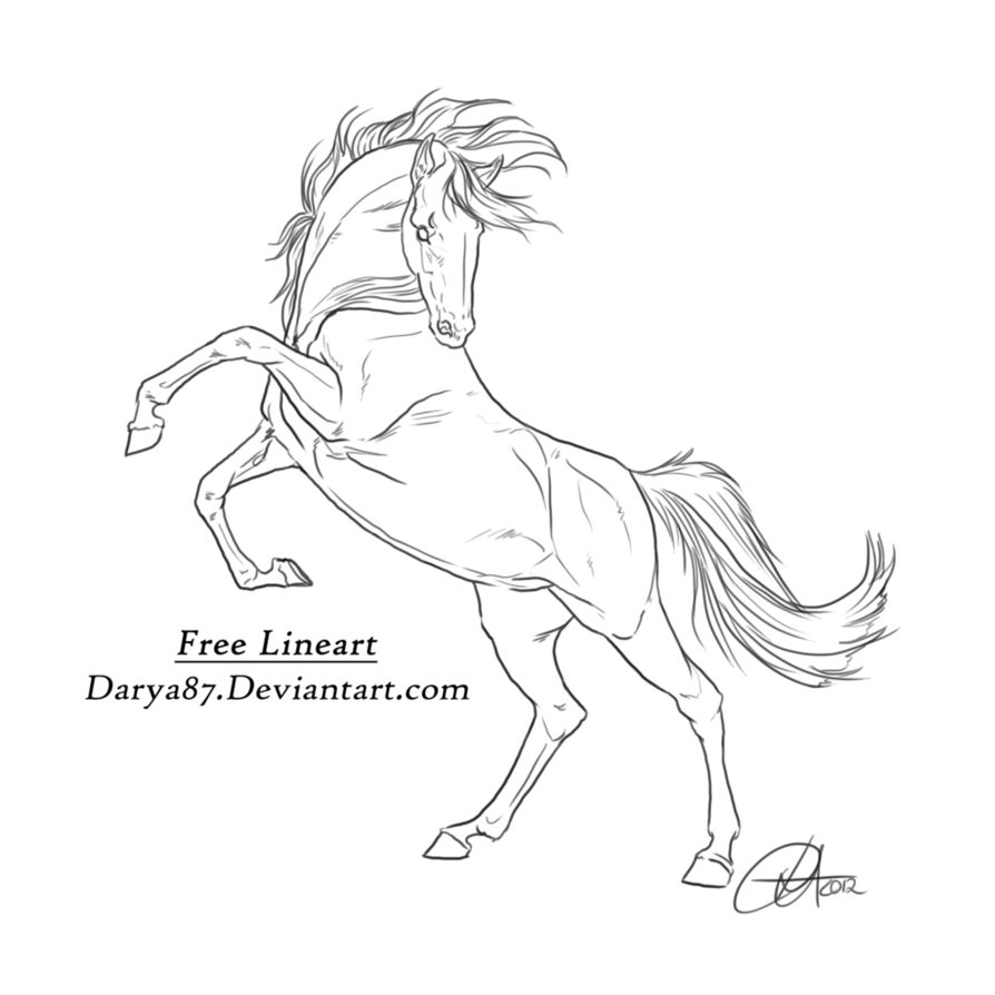 rearing horse coloring pages rearing horse coloring pages hellokidscom rearing pages horse coloring