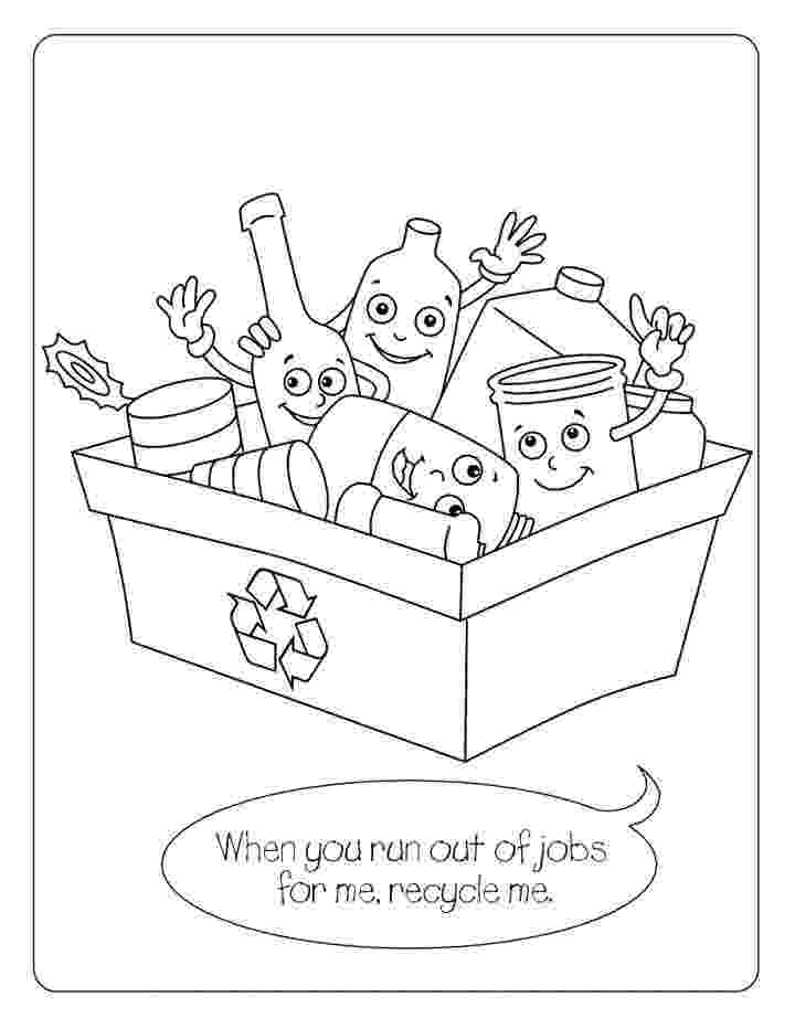 recycling coloring page teaching kids about recycling nak39azdli recycling depot coloring page recycling