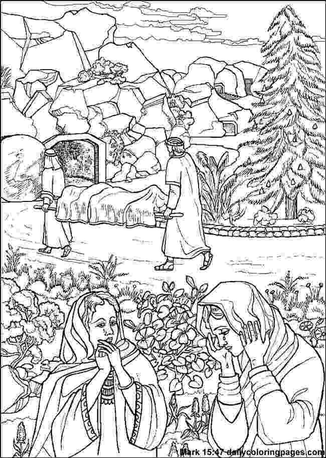 resurrection of jesus coloring pages 48 best kleurplaten paasverhaal images on pinterest jesus coloring resurrection of pages