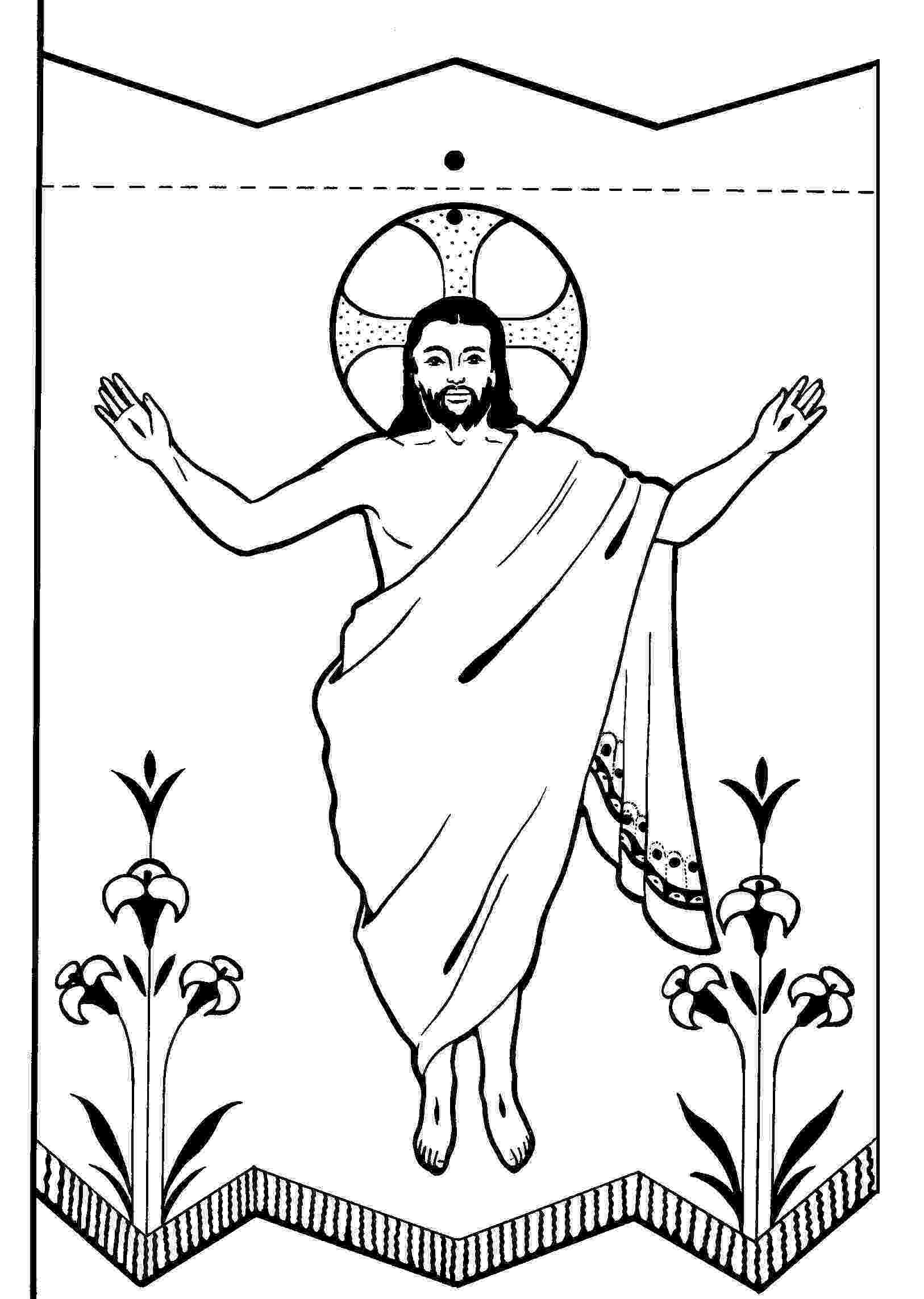resurrection of jesus coloring pages children39s fellowship easter coloring pages the resurrection of coloring pages jesus