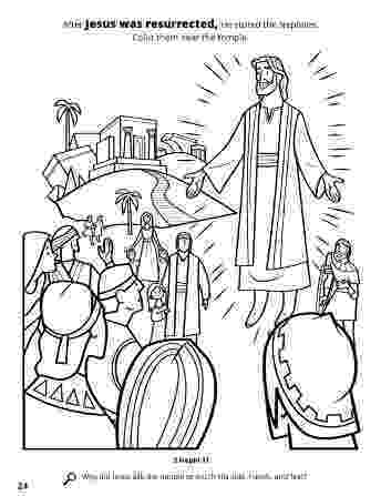 resurrection of jesus coloring pages disciples crafting the word of god pages coloring of jesus resurrection