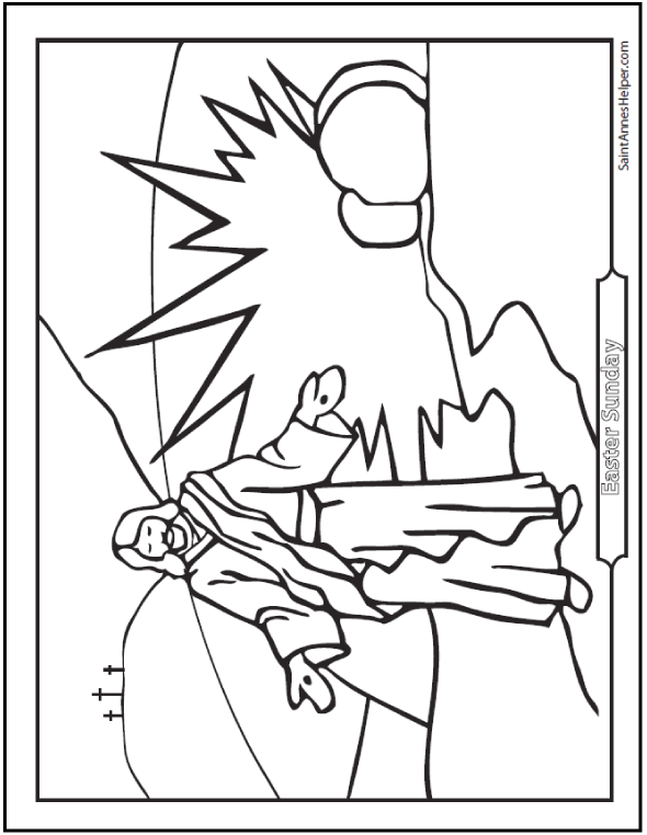 resurrection of jesus coloring pages jesus resurrection in matthew coloring page netart resurrection of jesus pages coloring