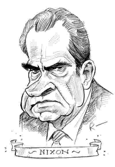 richard nixon caricature kentoine johnson39s profile knew the news news caricature richard nixon