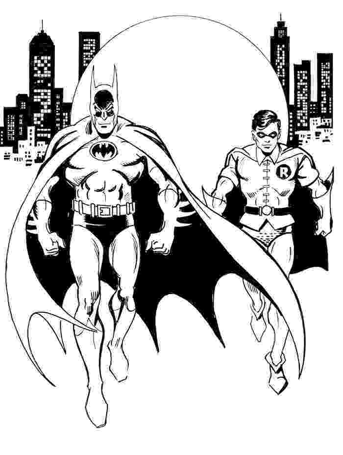 robin and batman coloring pages batman and robin coloring page h m coloring pages coloring robin pages and batman