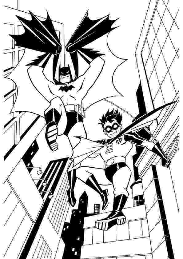 robin and batman coloring pages batman and robin coloring pages to download and print for free batman robin coloring and pages