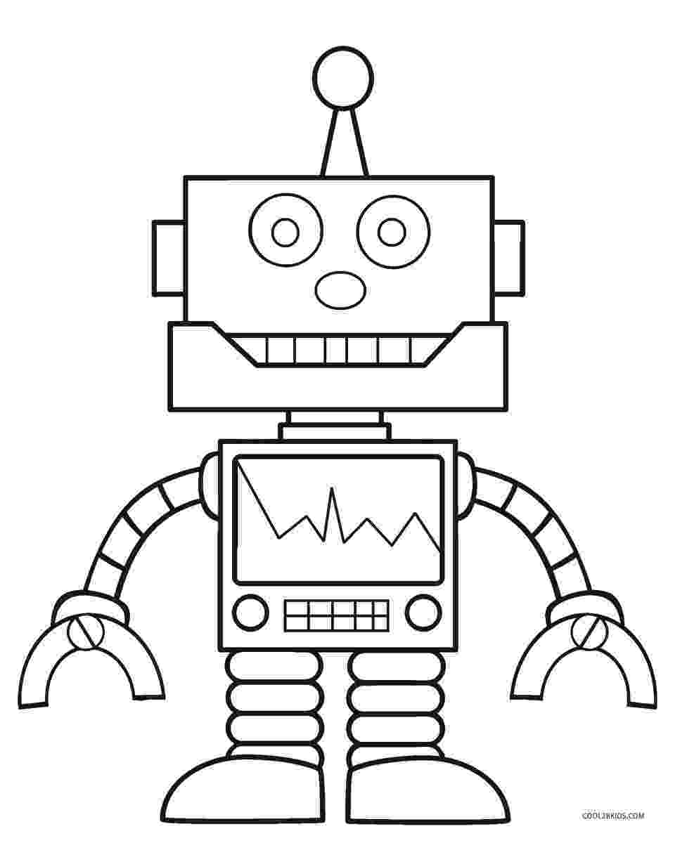 robot coloring sheets free printable robot coloring pages for kids cool2bkids coloring sheets robot 1 1